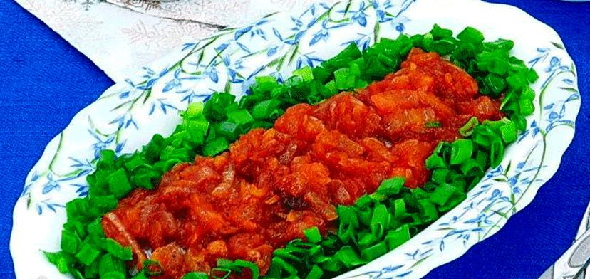 Сельдь по-литовски с жареным луком