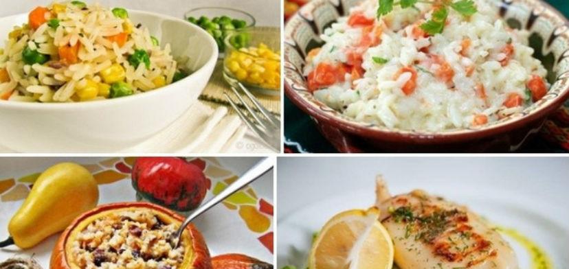 6 Постных рецептов с рисом