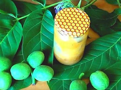 Как приготовить грецкие орехи с медом