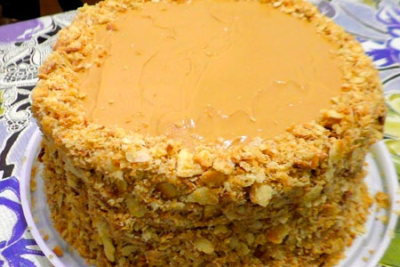 Афганский Наполеон: идеальный десерт для тех, кто любит очень вкусно покушать (Пошагово + Фото)