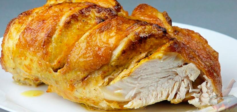 Блюдо из куриной грудке в духовке пошаговое