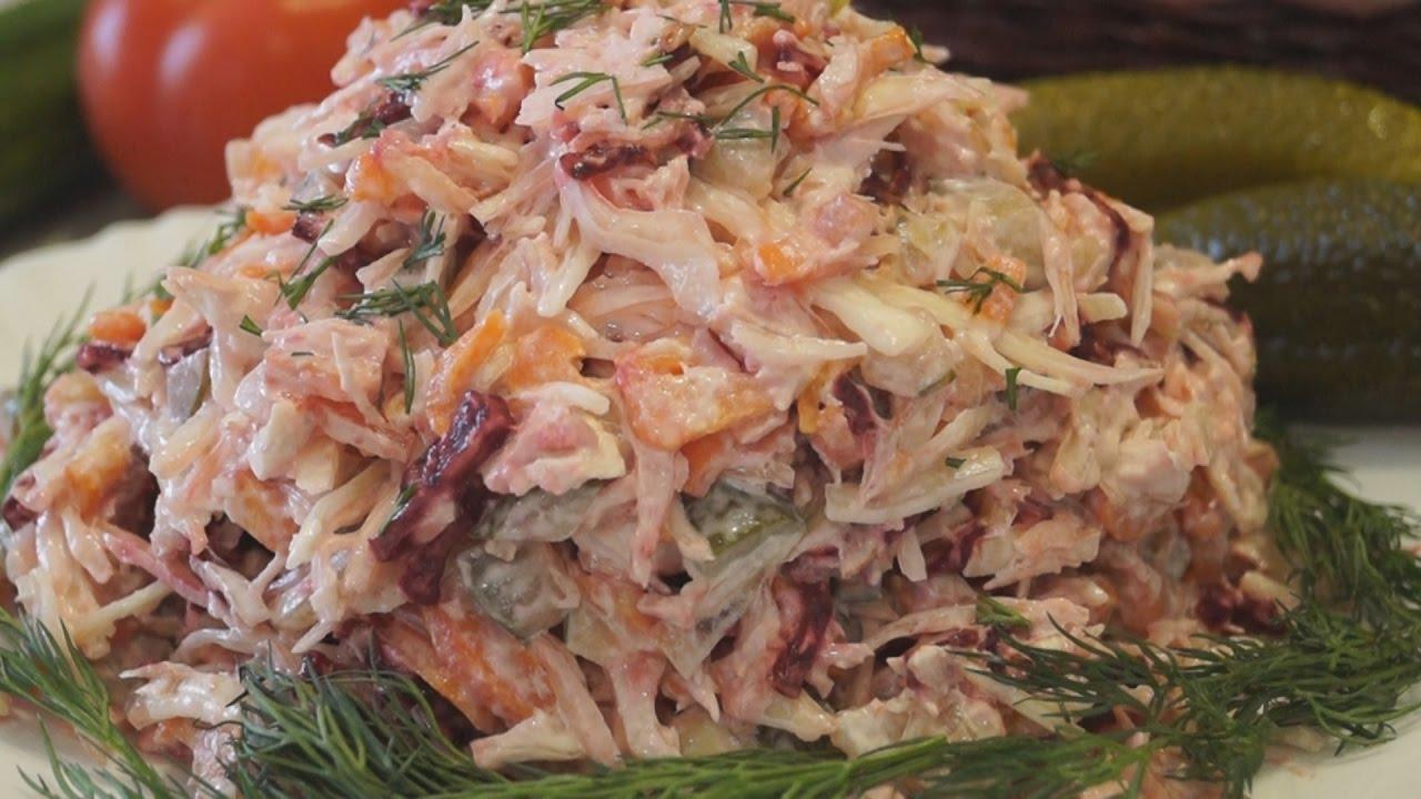 Салат быстро и недорого рецепты с