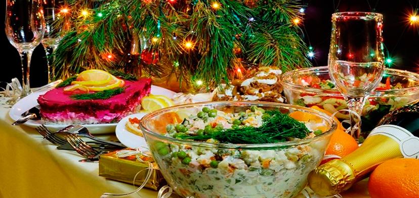 Праздничный стол на новый год что должно быть на столе