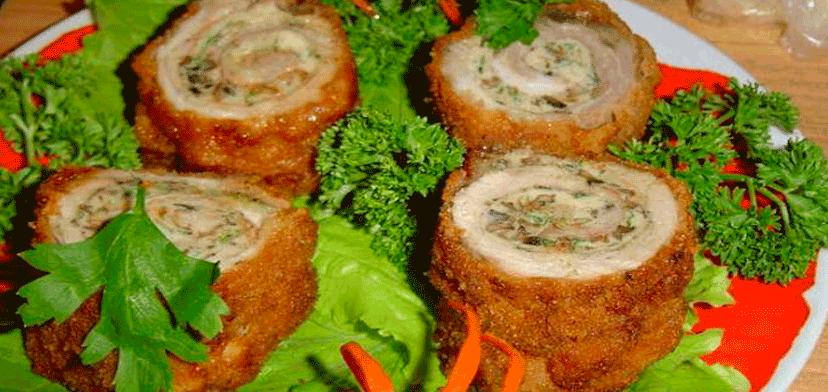 5 великолепных мясных рулетов для праздничного стола!