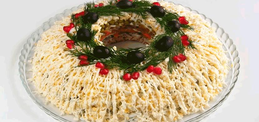 Картинки по запросу салат викинг с грибами