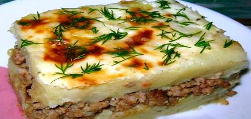 Картофельные запеканки с фаршем на сковороде рецепты