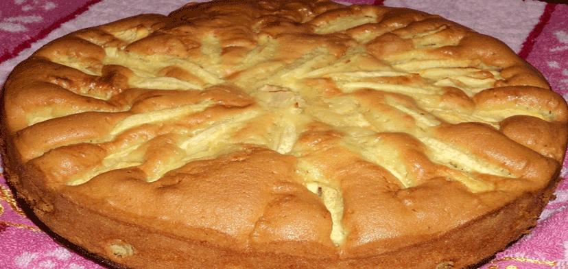 Яблочный пирог песочное тесто высоцкая