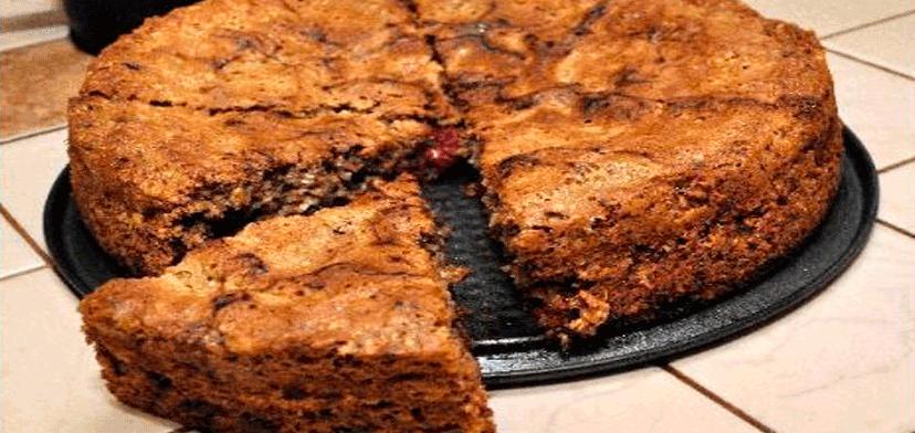 Овсяный пирог в духовке